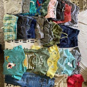 Boy's Toddler 2T Super Bundle 28 piece lot